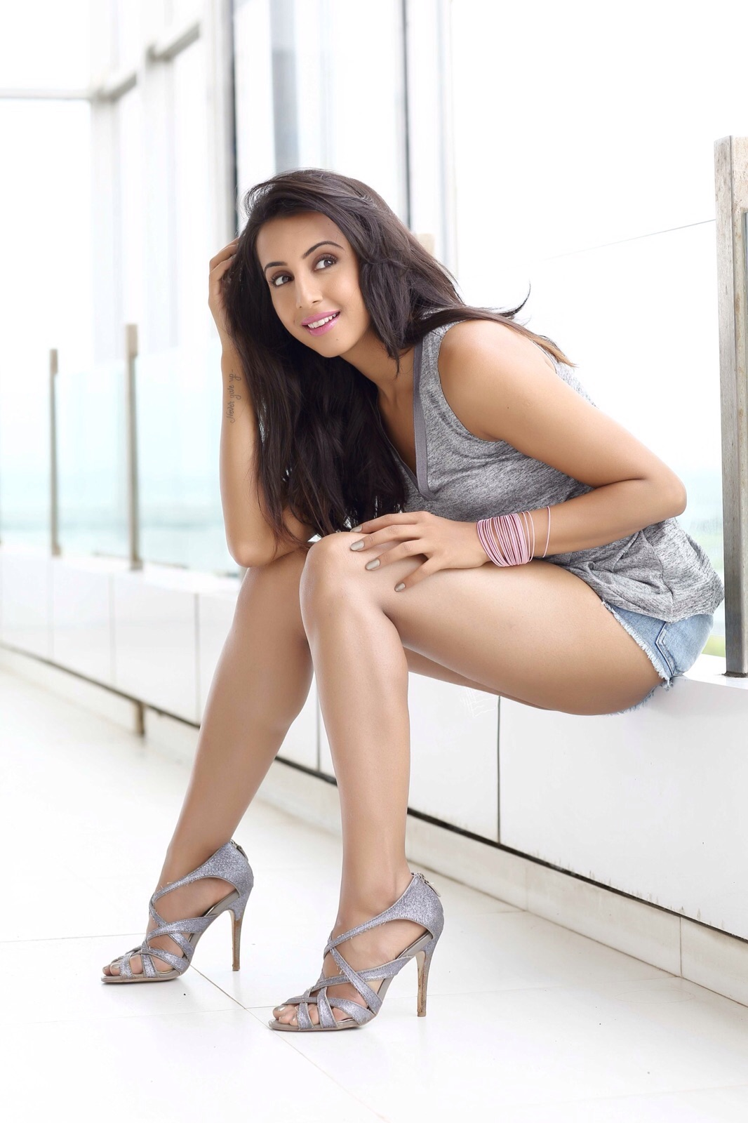 sanjjanna Sanjjanna Sizzles In Super Sexy Outfit | HD Photo Stills Sanjanaa Hot Photo Stills 12