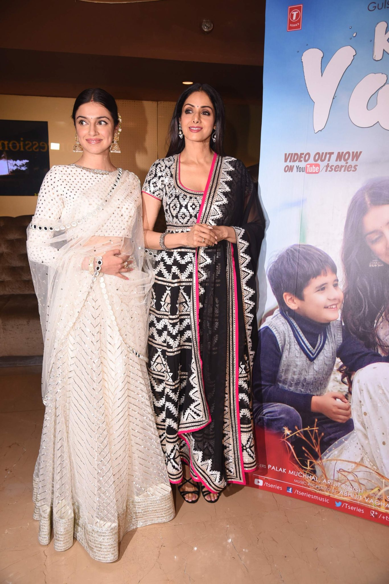 sridevi Photo Stills Of Beautiful Sridevi From 'Kabhi Yaadon Mein' Event Sridevi TSeries 41