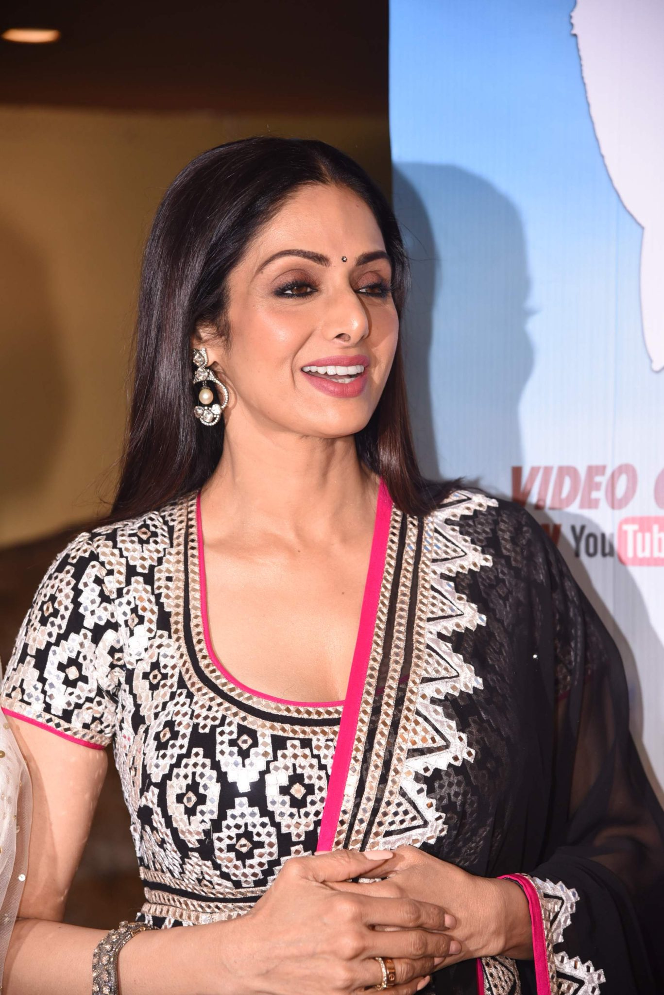 sridevi Photo Stills Of Beautiful Sridevi From 'Kabhi Yaadon Mein' Event Sridevi TSeries 49