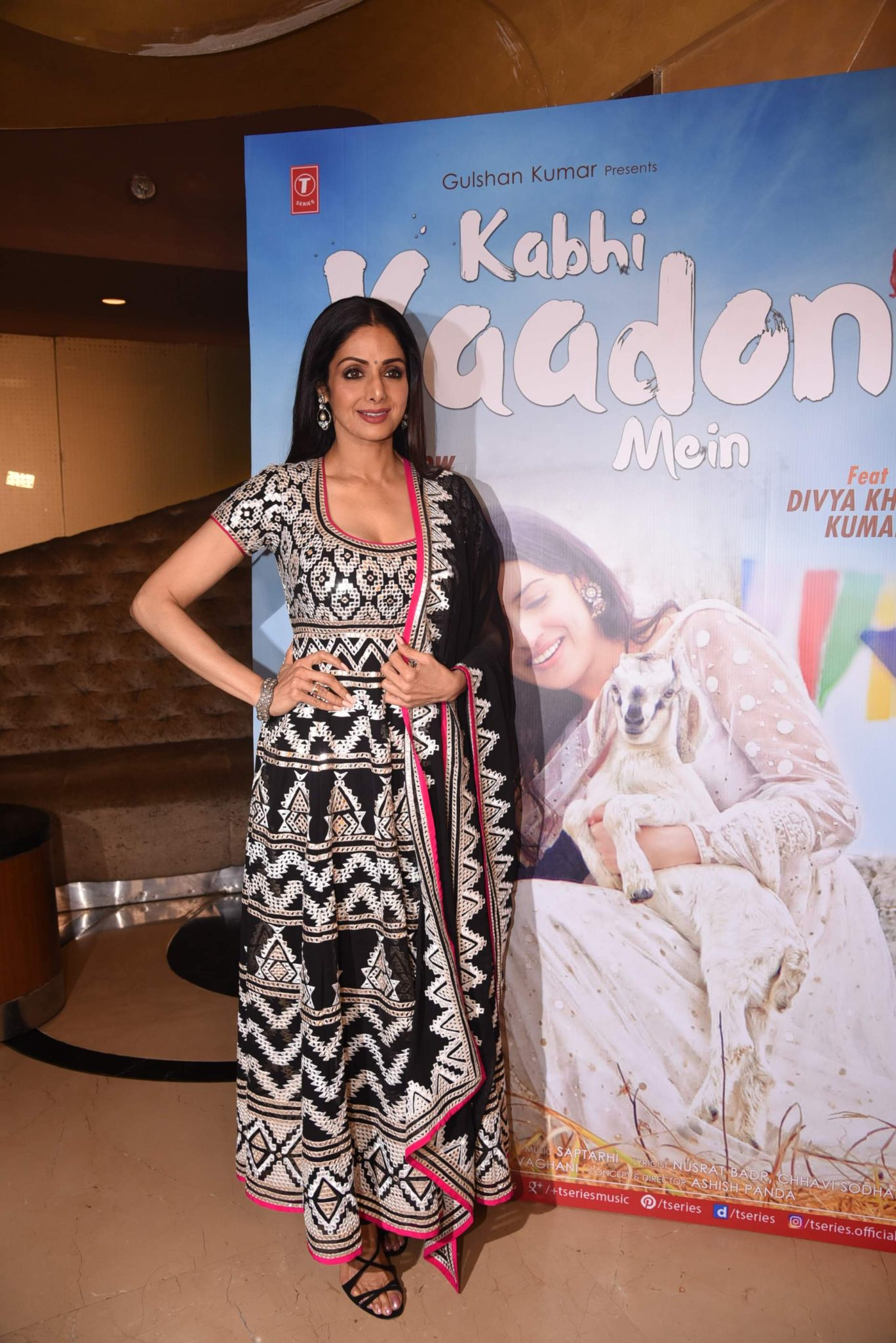sridevi Photo Stills Of Beautiful Sridevi From 'Kabhi Yaadon Mein' Event Sridevi TSeries 57