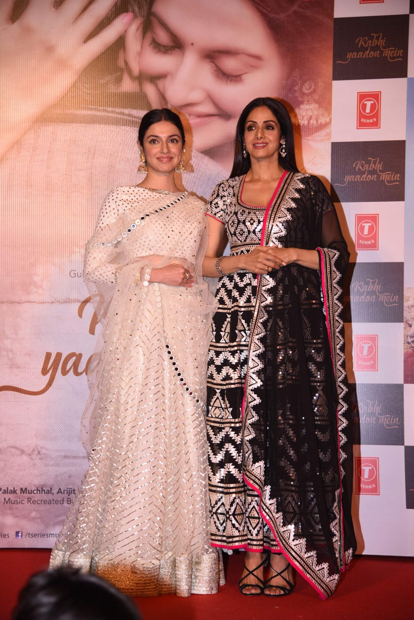 sridevi Photo Stills Of Beautiful Sridevi From 'Kabhi Yaadon Mein' Event Sridevi TSeries 91