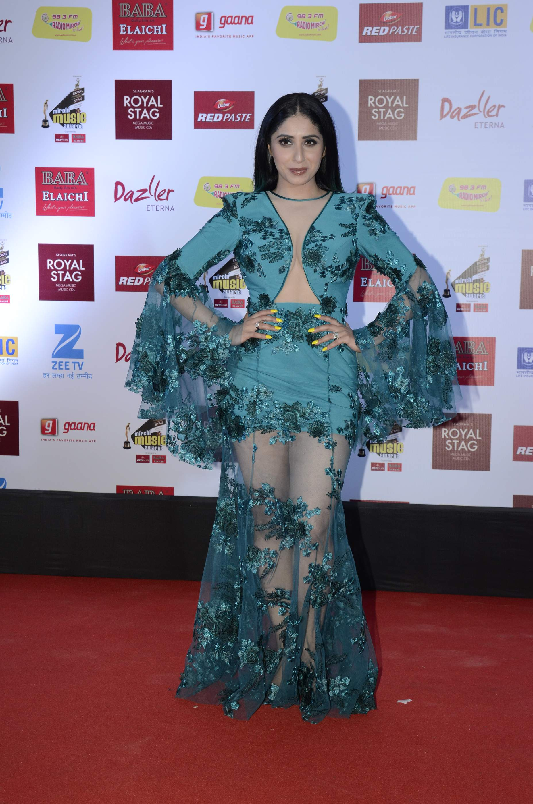 mirchi music HOT Celebs Dazzle At Mirchi Music Awards Event | Models | Actresses Radio Mirchi Awards Red Carpet 6