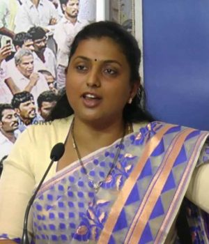 YSR Congress Party MLA Roja backs YS Jagan comments made against AP CM Chandrababu Naidu