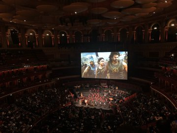 Rajamouli's Baahubali Becomes FIRST Non-English Film To Screen At Royal Albert Hall  Rajamouli's Baahubali Becomes FIRST Non-English Film To Screen At Royal Albert Hall rajamoulis baahubali becomes first non english film to screen at royal albert hall